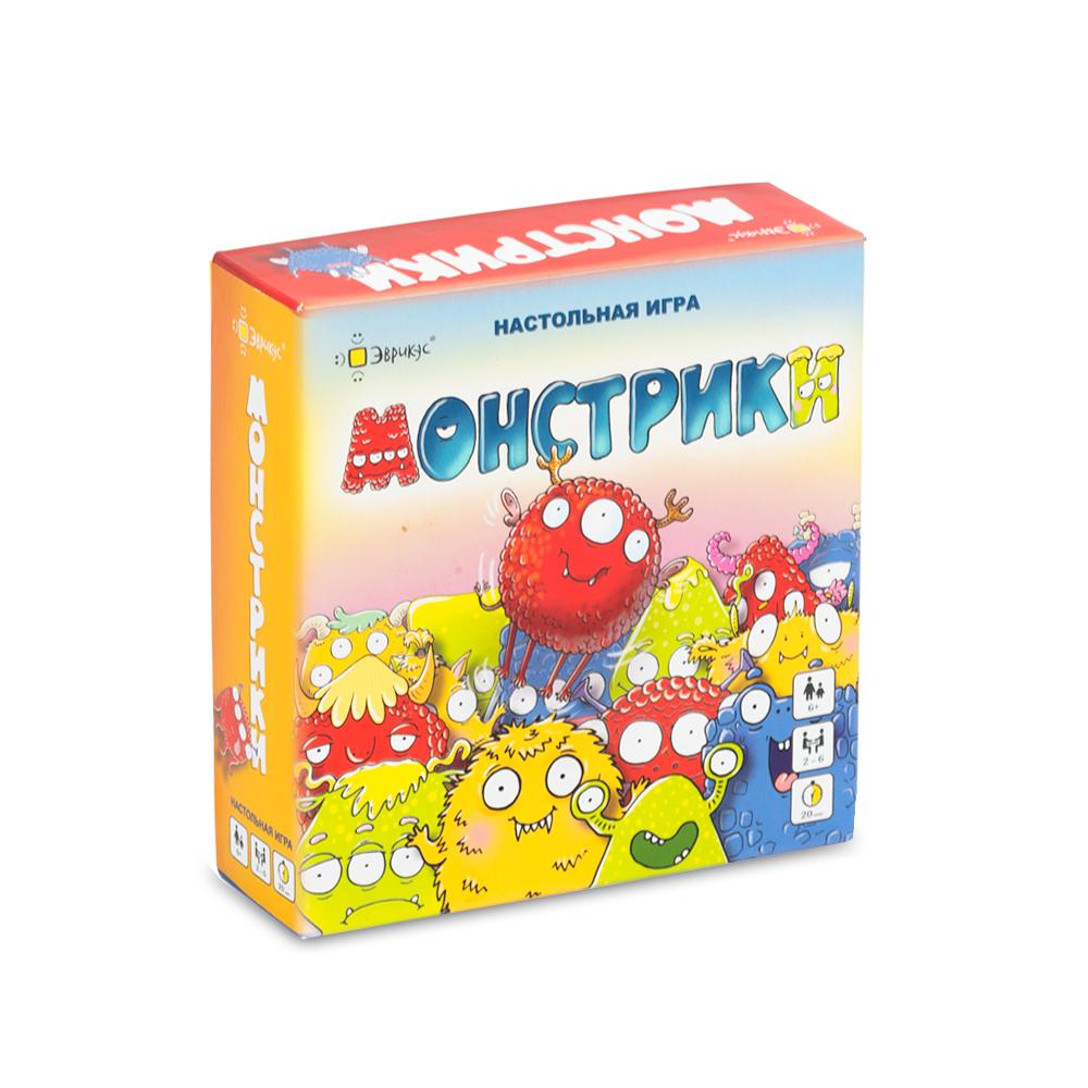 Настольная игра ЭВРИКУС Монстрики BG-17023