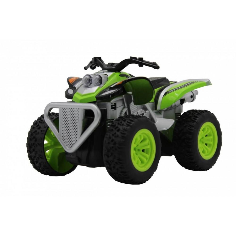 Машина пластиковая FUNKY TOYS Квадроцикл die-cast, инерционный, зеленый, 1:24