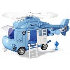 Конструктор FUNKY TOYS Полицейский вертолет