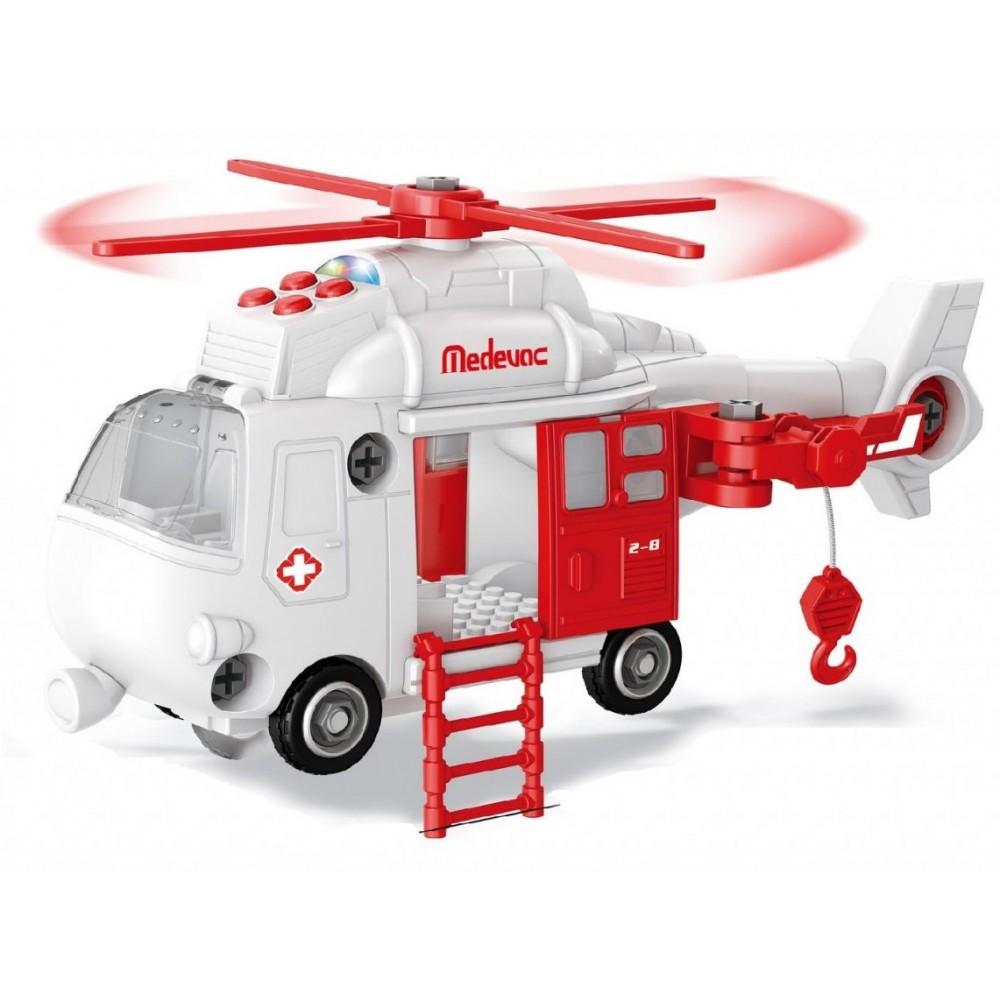 Конструктор FUNKY TOYS Спасательный вертолет