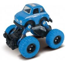 Машина инерционная, синяя, 1:46