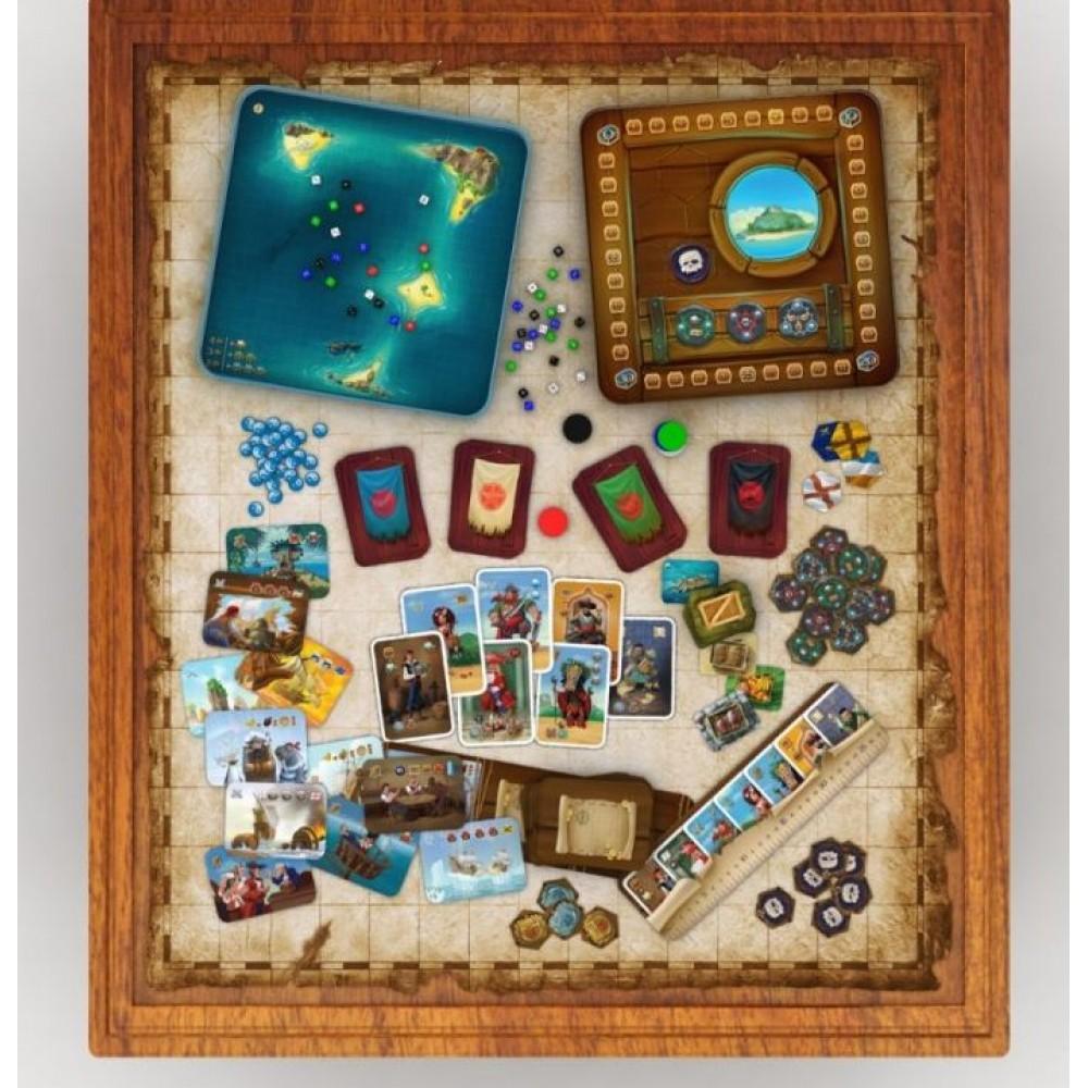 Настольная игра ГЕМЕНОТ Пираты 7 морей
