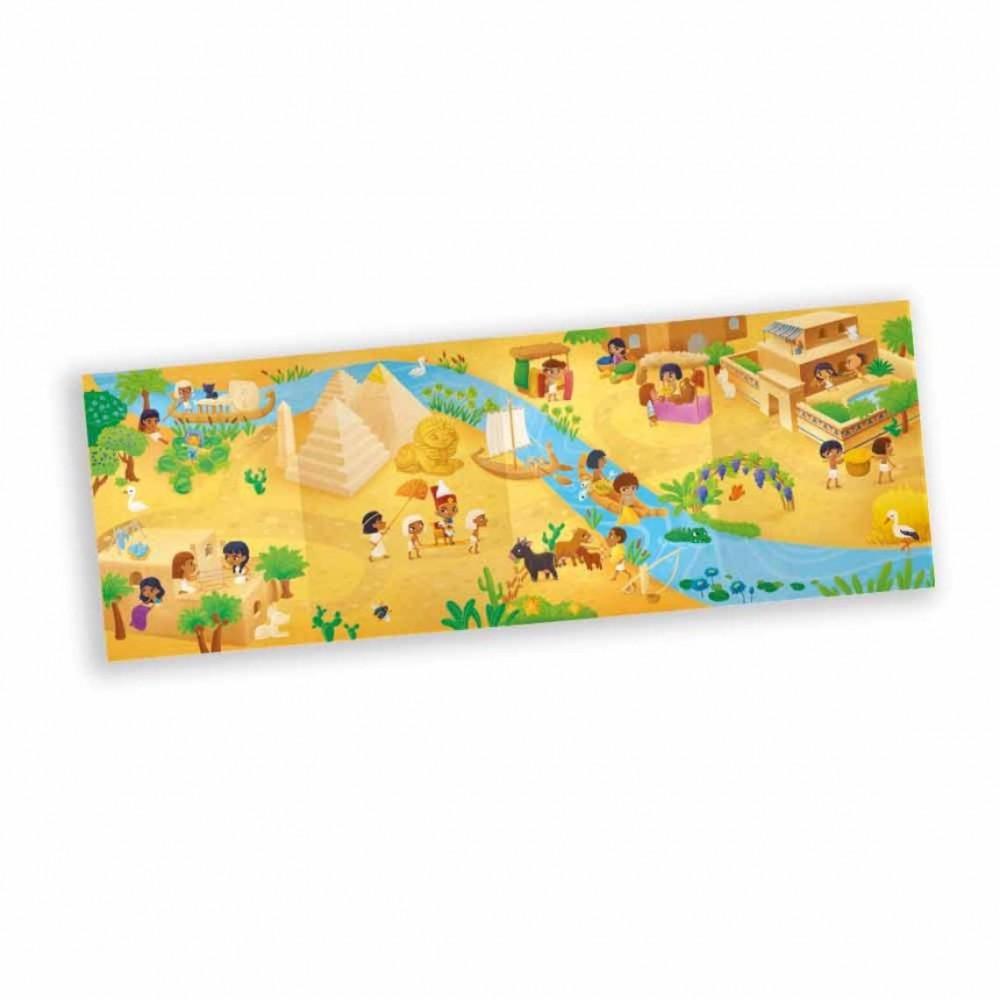 Книга ГЕОДОМ c панорамой и наклейками. Древний Египет 4199