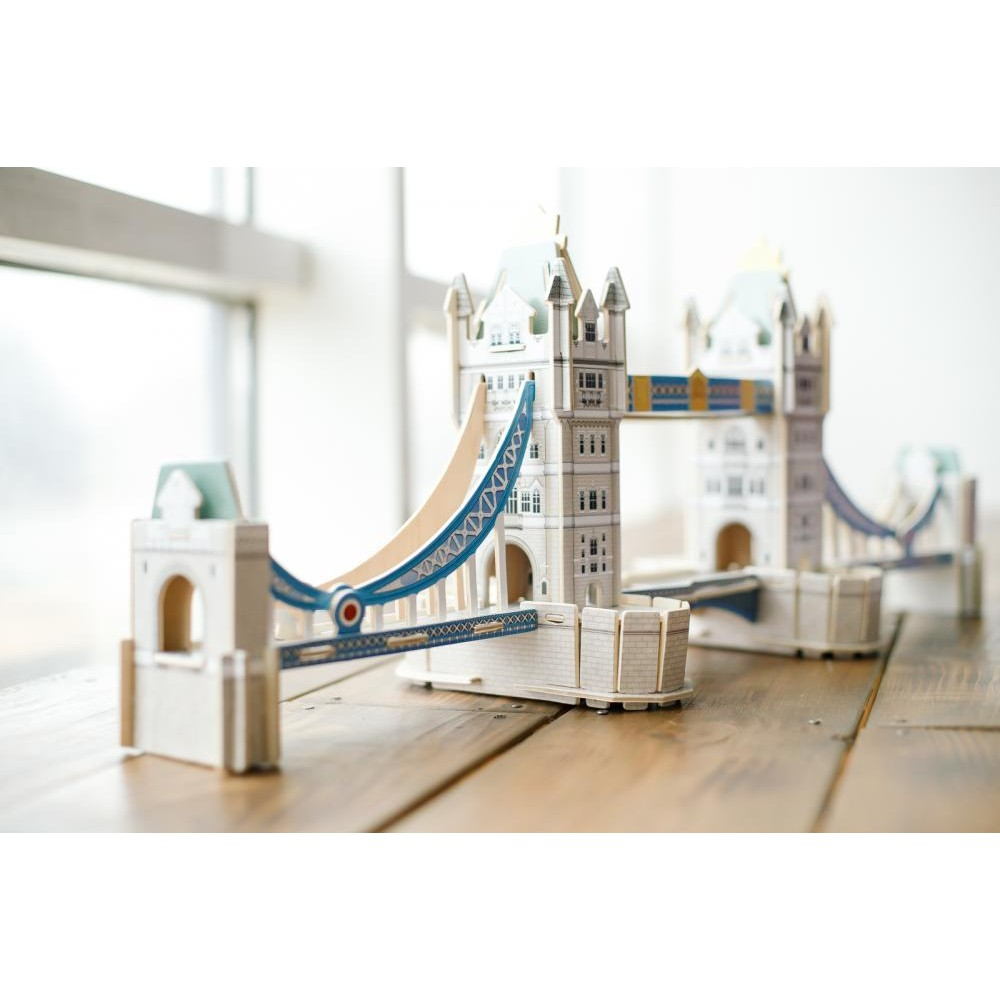 Деревянный пазл ГЕОДОМ Тауэрский мост 3D 4917