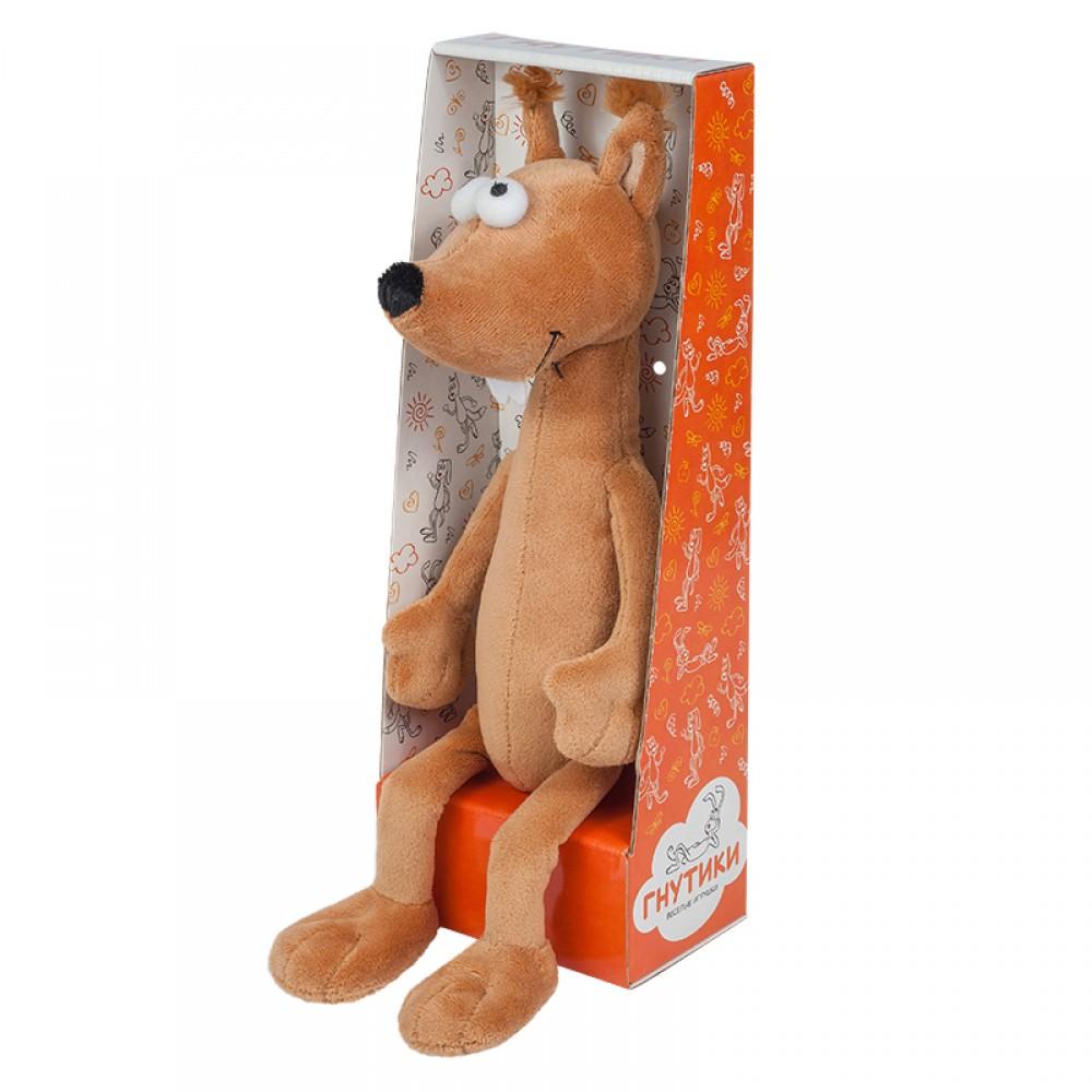 Мягкая игрушка ГНУТИКИ Бельчонок-Рыжий Хвостик MT-042018-2-22