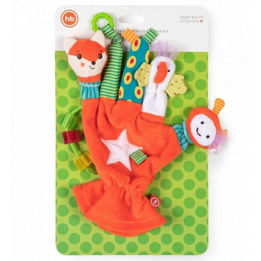 Игрушка HAPPY BABY Перчатка Дай пять