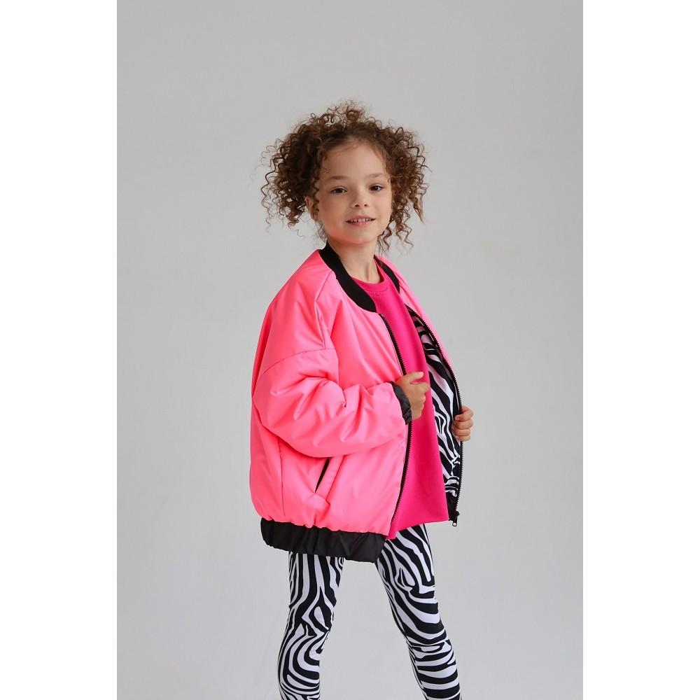 Бомбер детский WILD (розовый)
