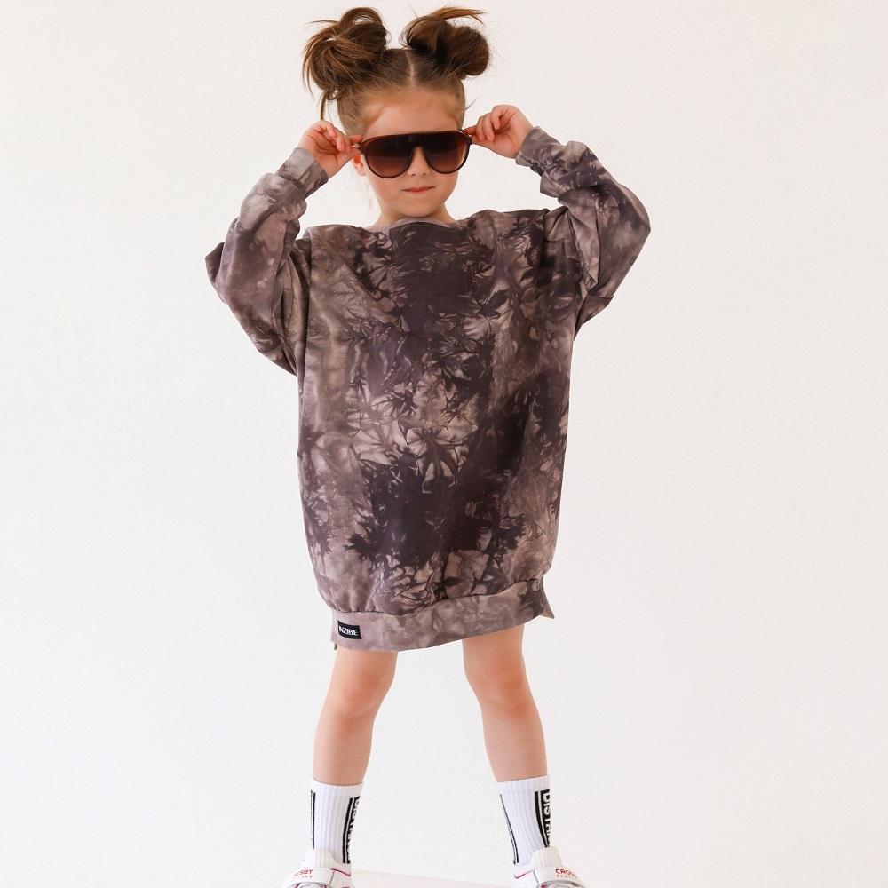 Платье WILD тай-дай мокко