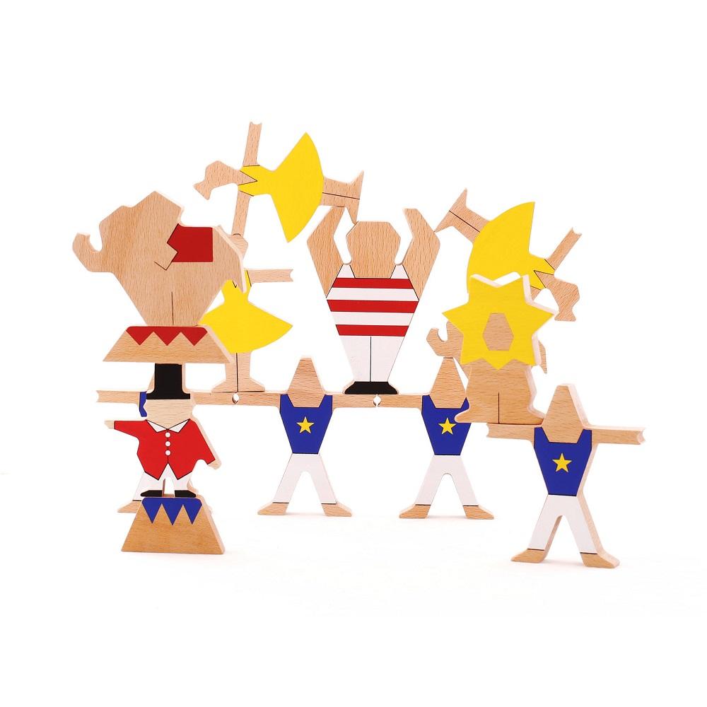 "Wooden set ""Circus show"" Art.01KP0005"