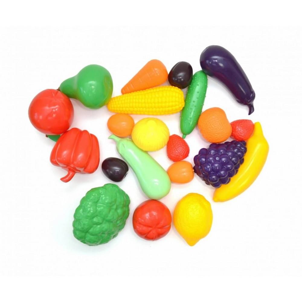 Игровой набор KNOPA Большой ящик Фрукты-овощи
