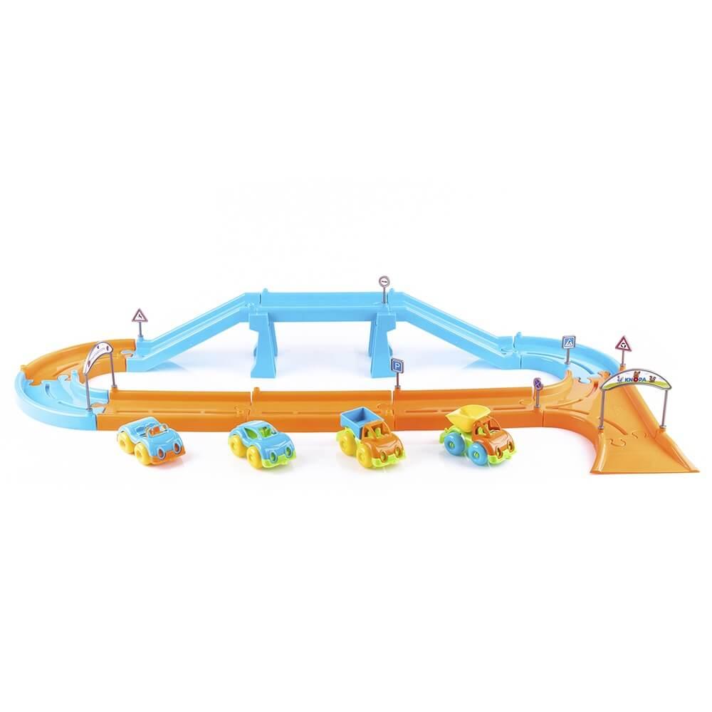 Игровой набор KNOPA Автодорога 1,8 м с машинками