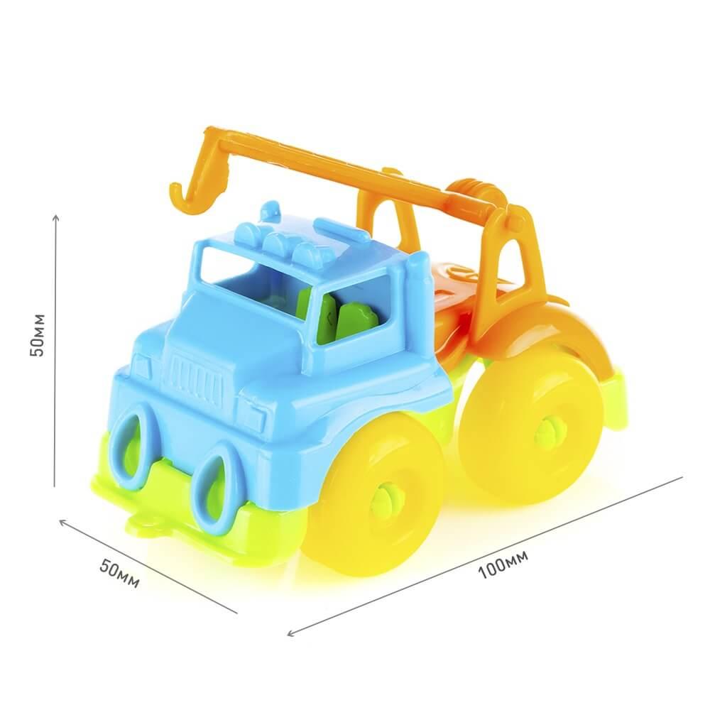 Игровой набор KNOPA Автодорога 2,5 м с машинками