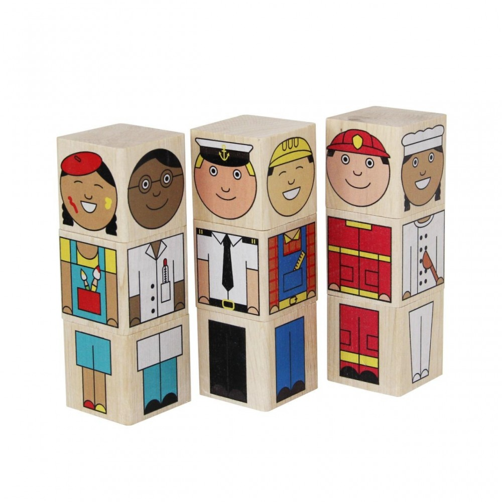 Кубики Профессии