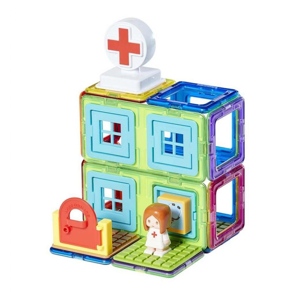 Конструктор MAGFORMERS Town Set - Hospital
