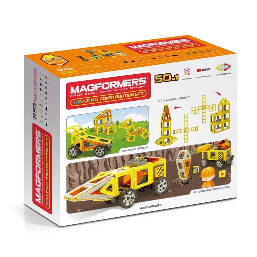 MAGFORMERS - Amazing Construction Set Art.717004