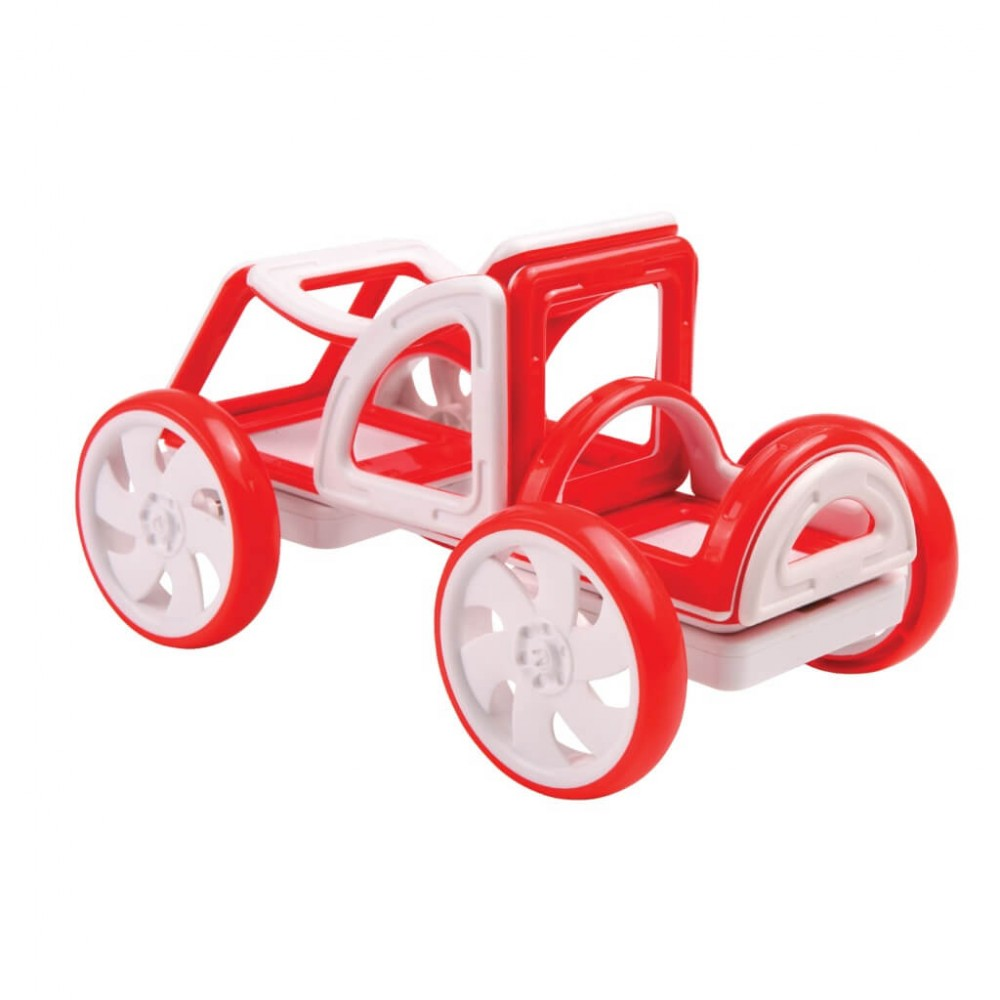 MAGFORMERS - My First Buggy red Art.702006