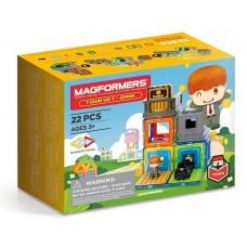 Конструктор MAGFORMERS Town Set - Bank 717009