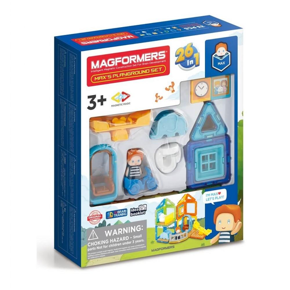 MAGFORMERS 705008 Max's Playground Set