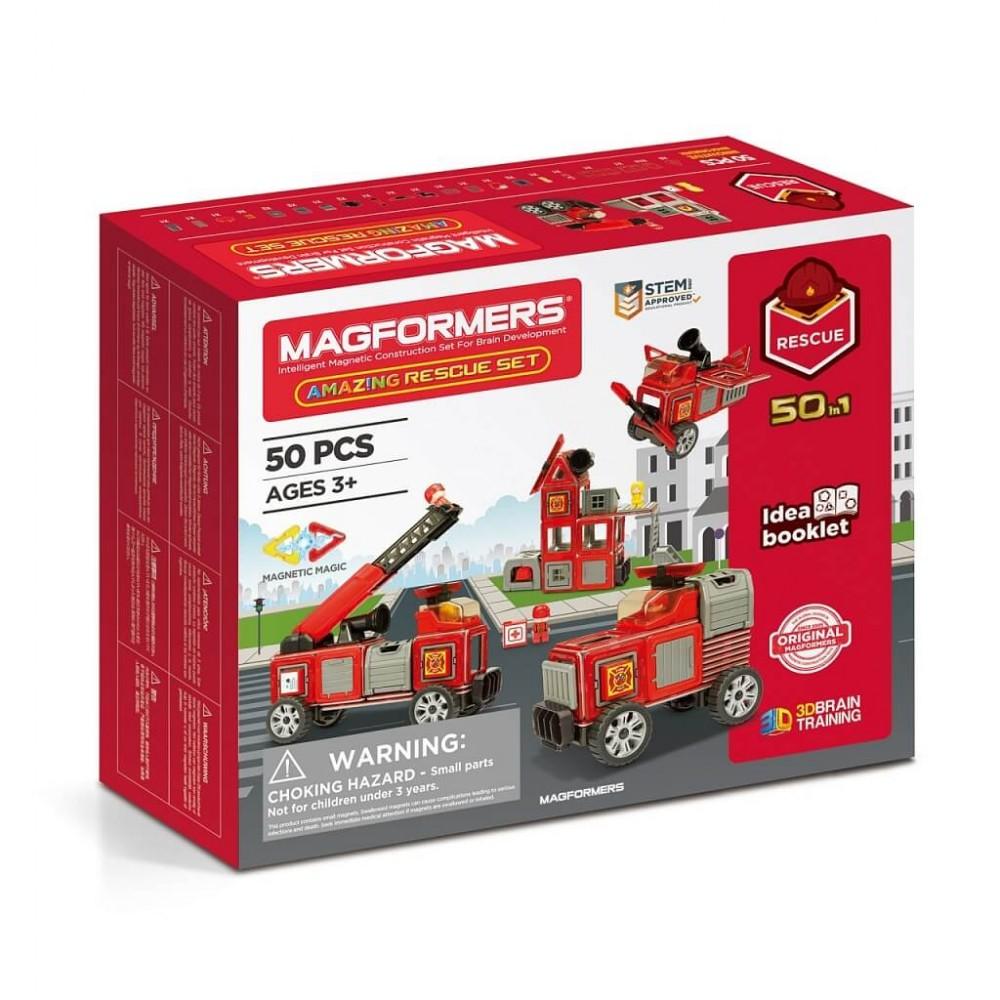 MAGFORMERS - Amazing Rescue Set Art.717003