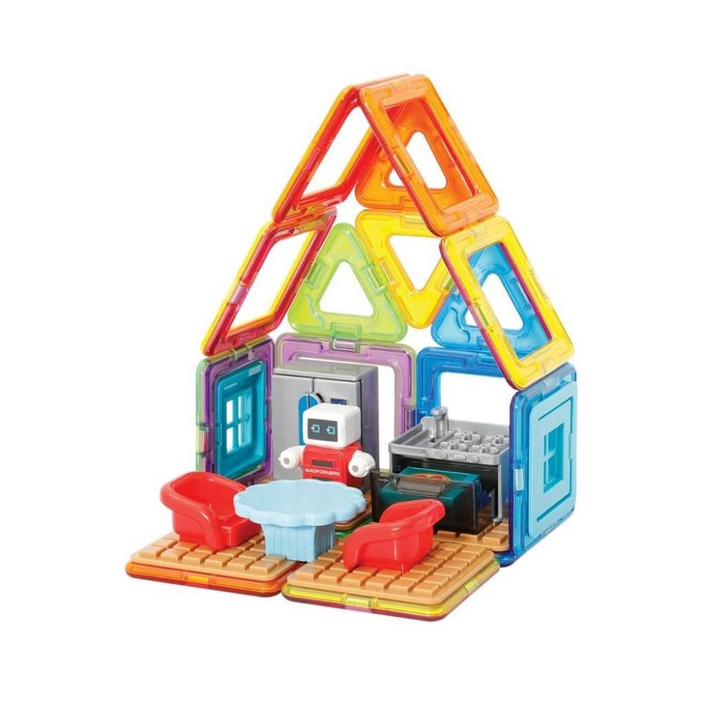 MAGFORMERS 705010 Minibot's Kitchen Set