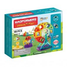 Магнитный конструктор MAGFORMERS Carnival Plus Set 48 дет.