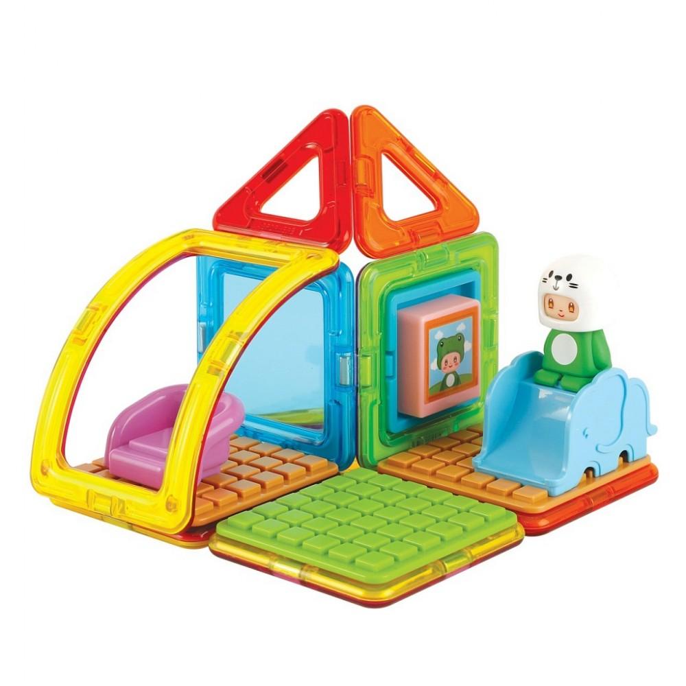 Магнитный конструктор MAGFORMERS Cube House Frog 20 дет.