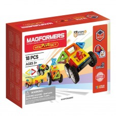 Магнитный конструктор MAGFORMERS Wow Plus Set 18 дет.