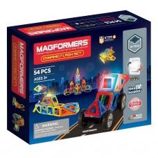 Магнитный конструктор MAGFORMERS Dynamic Flash Set 54 дет