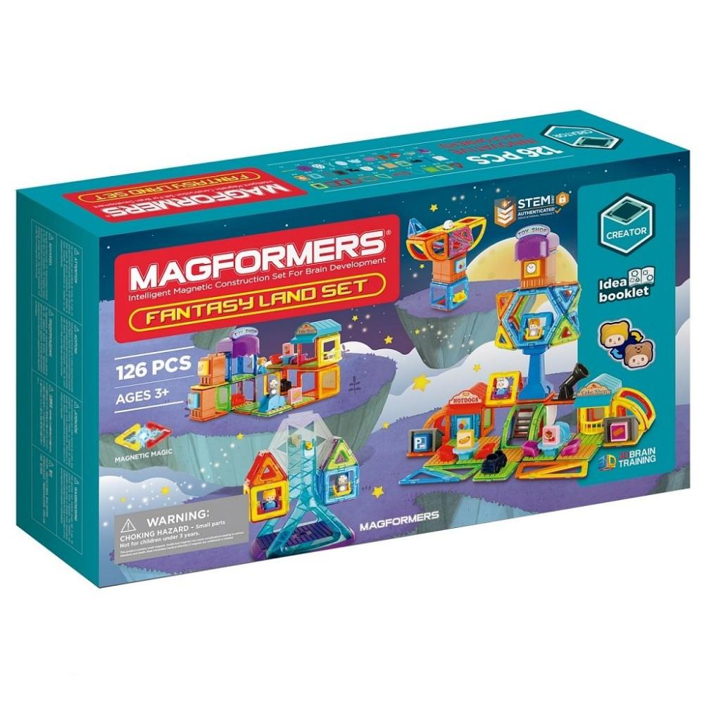 Магнитный конструктор MAGFORMERS Fantasy Land Set 126 дет