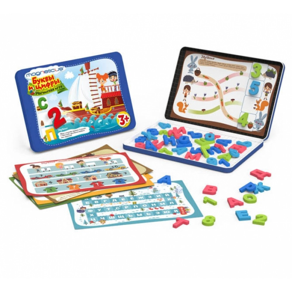 MAGNETICUS Learning Set Letters and Numbers POL-007