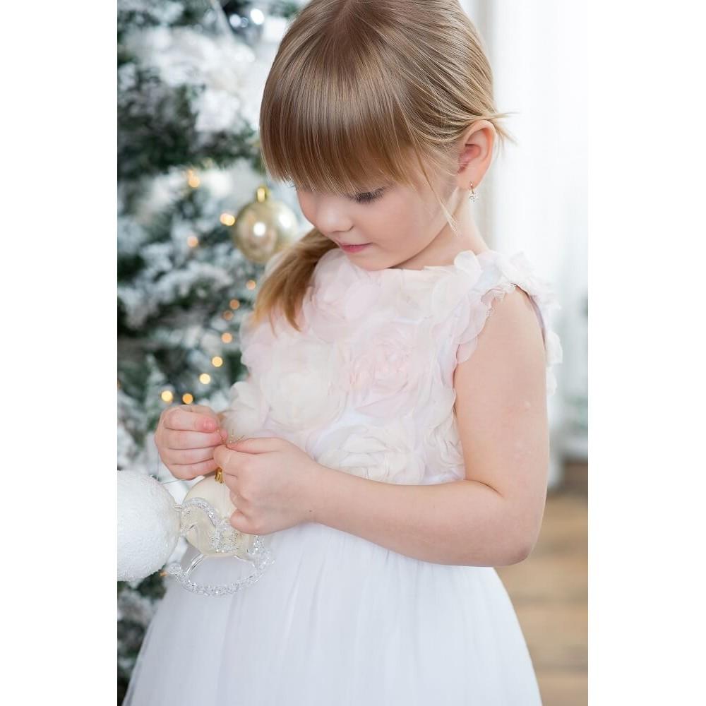 Dress White roses new