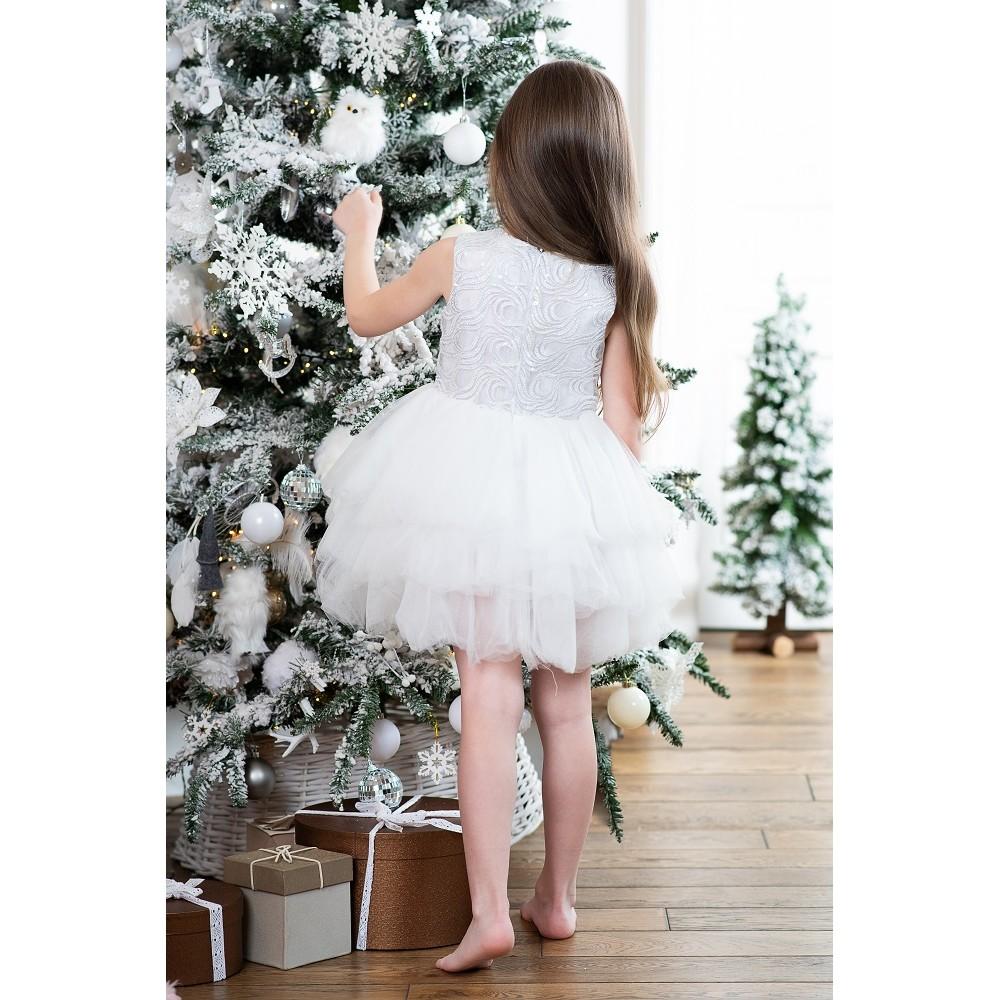 Elegant Sneginka dress