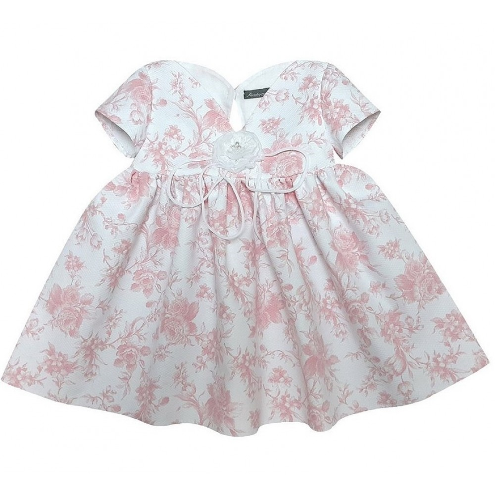 Dress with a rose 1722129 pink
