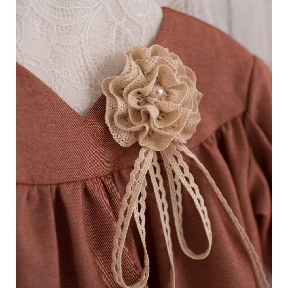 Dress Mini-lady terracotta