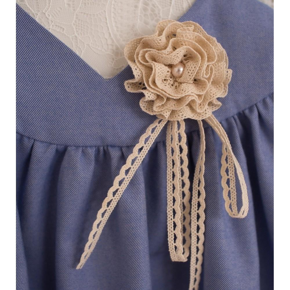 Dress Mini-lady cornflower