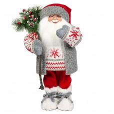 Дед мороз в свитере со снежинкой 32 см