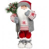 Дед мороз в свитере со снежинкой 47 см
