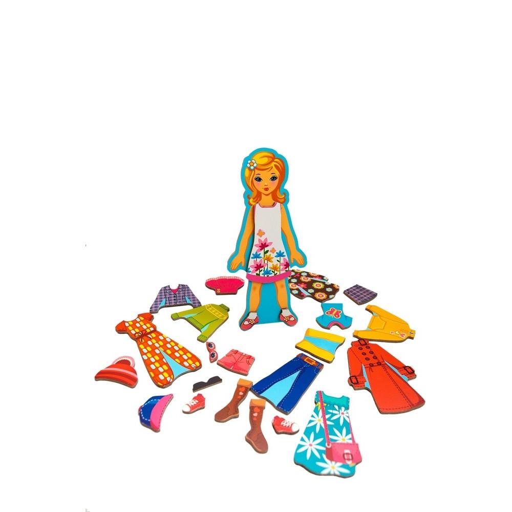 "Wooden constructor ""Fashion Locker"" (girl) Art. 02BZ0002"