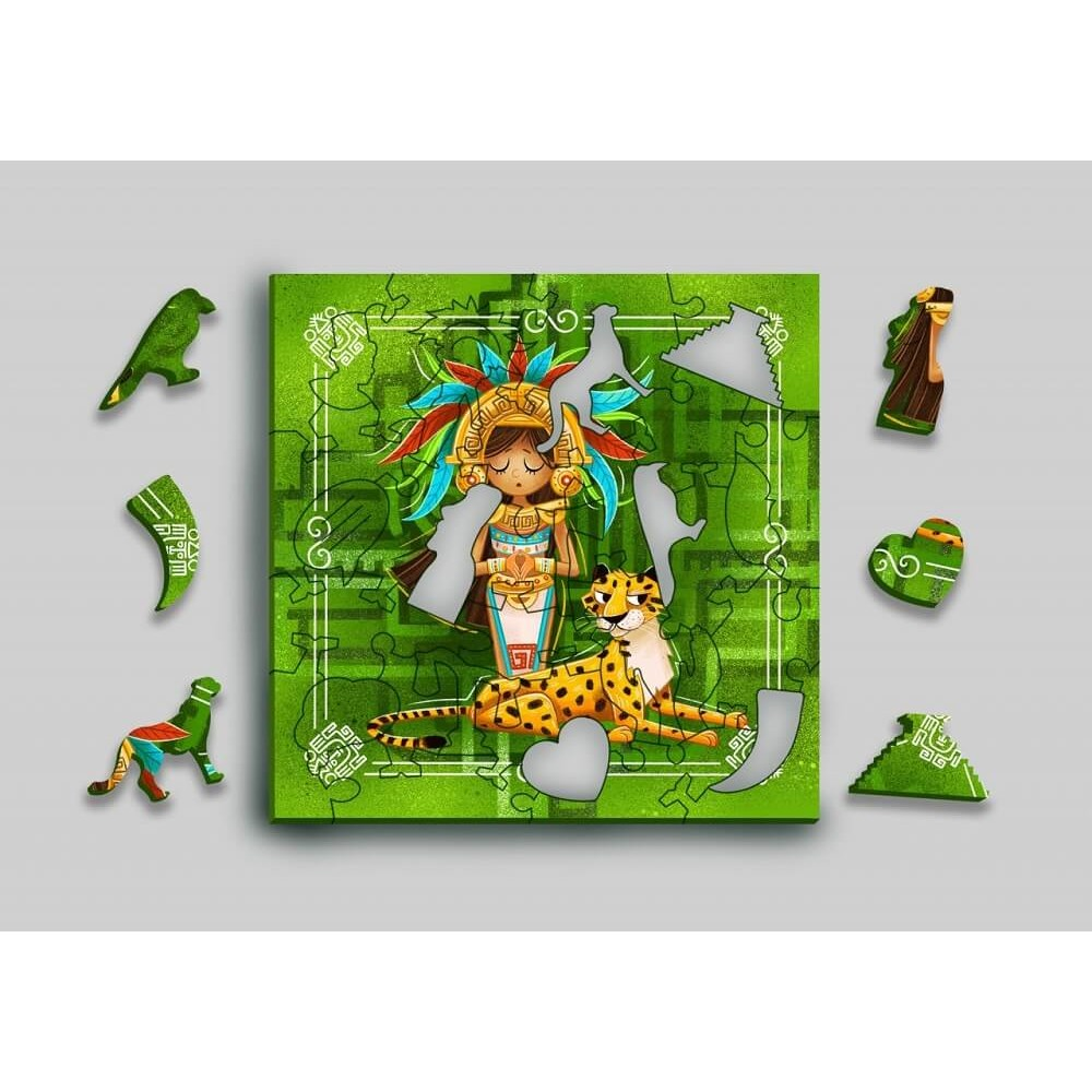 Wooden puzzle MR.PUZZ Art. 5003