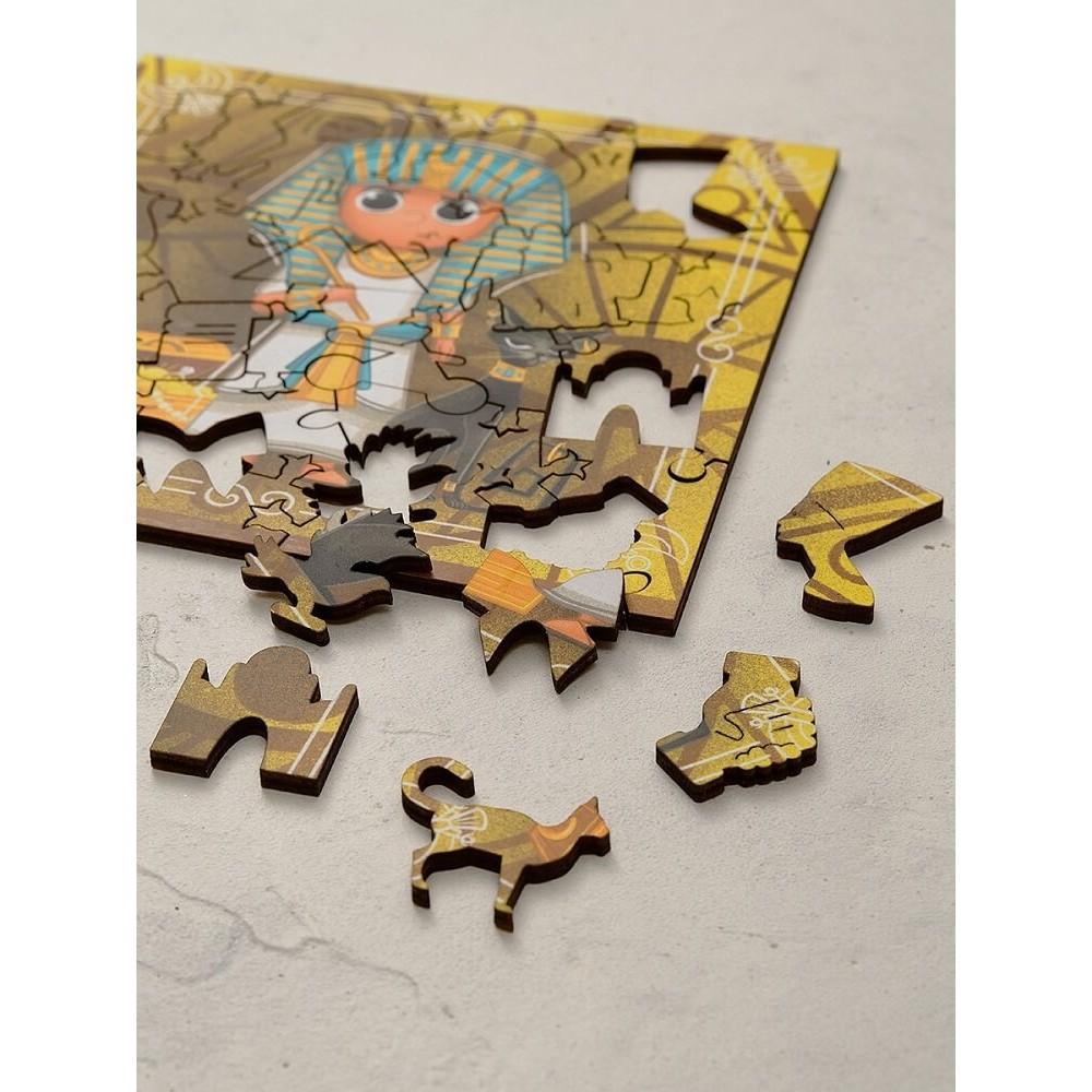 Wooden puzzle MR.PUZZ Art. 5000