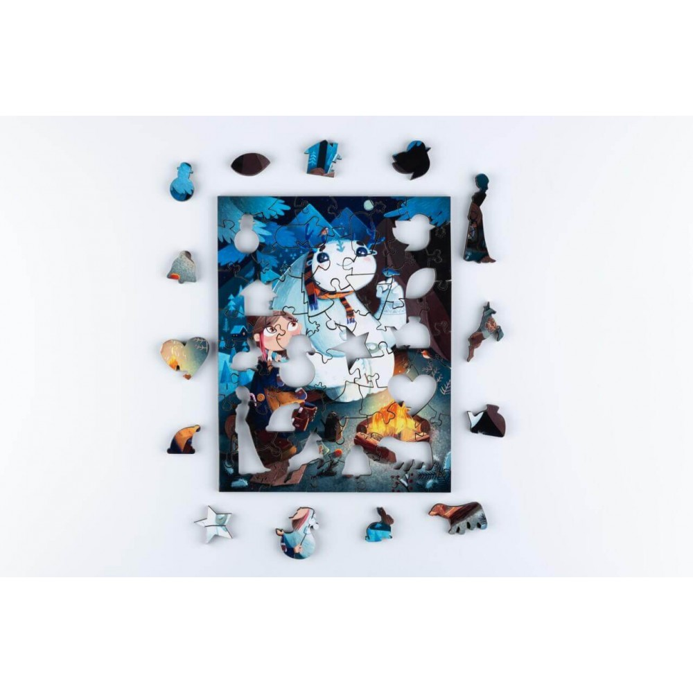 Wooden puzzle MR.PUZZ  Art. 4836
