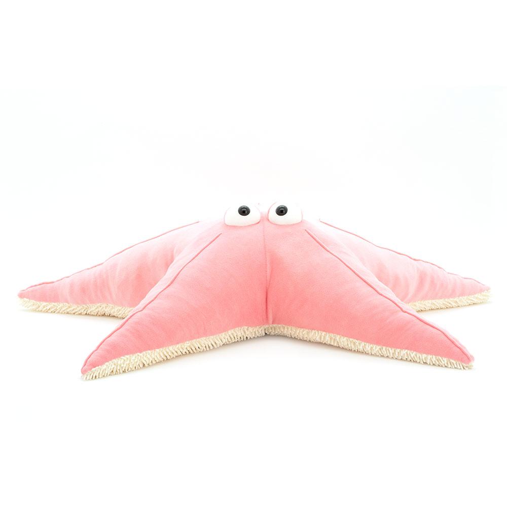 Мягкая игрушка Звезда розовая 80 см