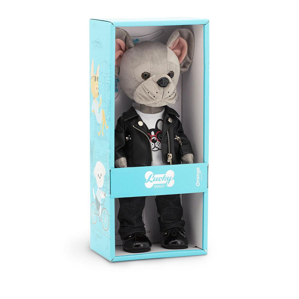 Мягкая игрушка ORANGE TOYS Lucky Maxx крутой парень 25 см