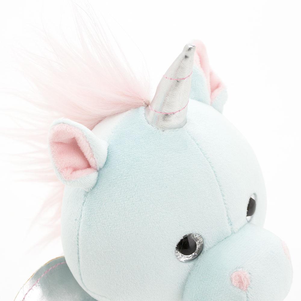 Мягкая игрушка Единорожек мятный 20 см