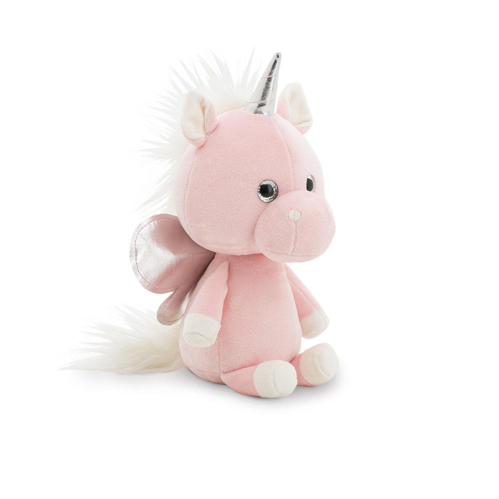 Мягкая игрушка Единорожек розовый 20 см