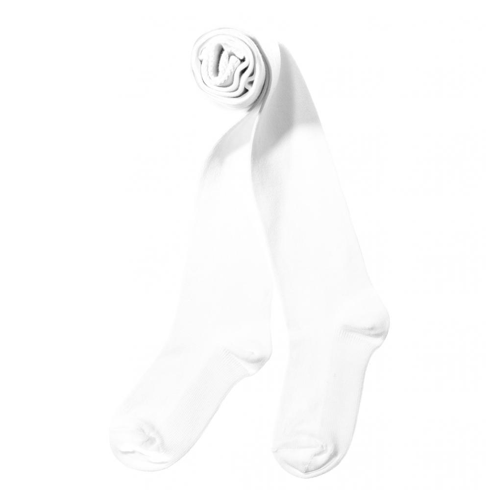 Children's tights single tone plain К200 white