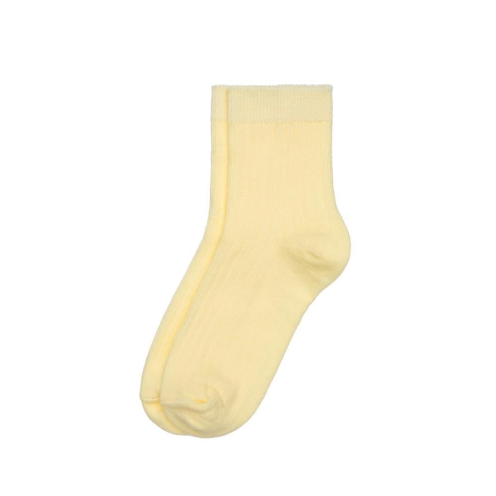 Children's socks H201, yellow color