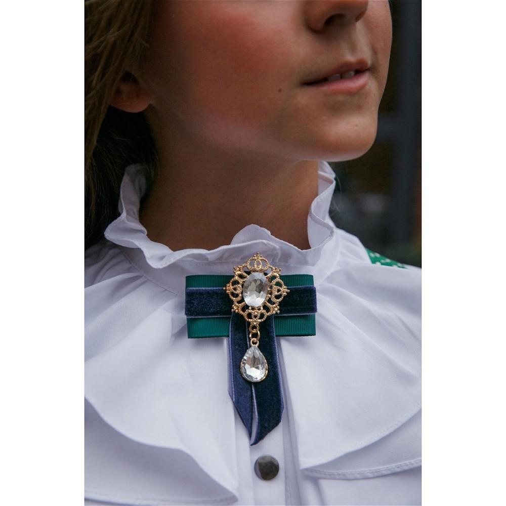 Brooch Polina Golub blue-green