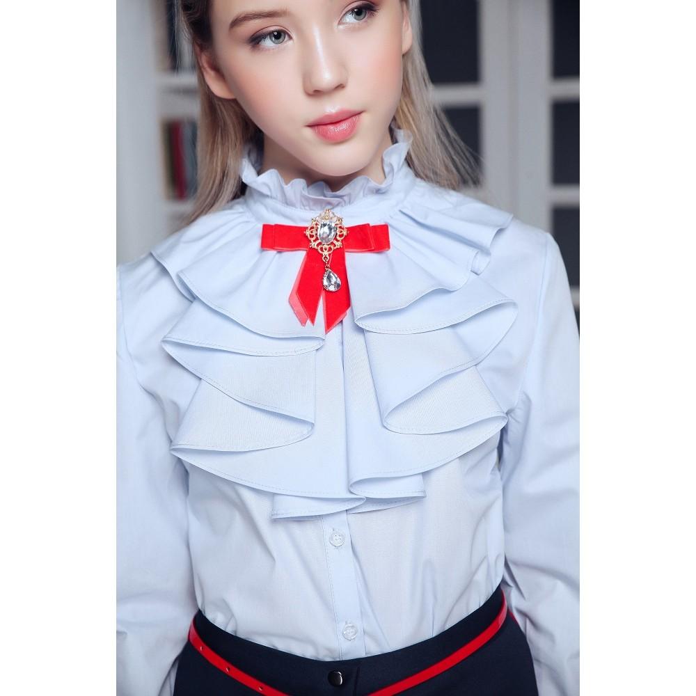 Brooch Jessica Red velvet