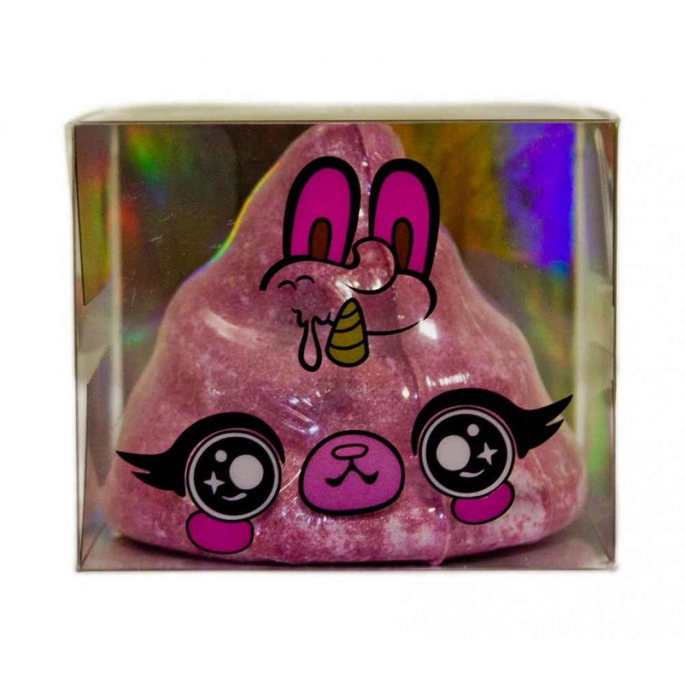 Ароматическая бомбочка POOPSIE SLIME SURPRISE! для ванны, розовая 68-0007-P